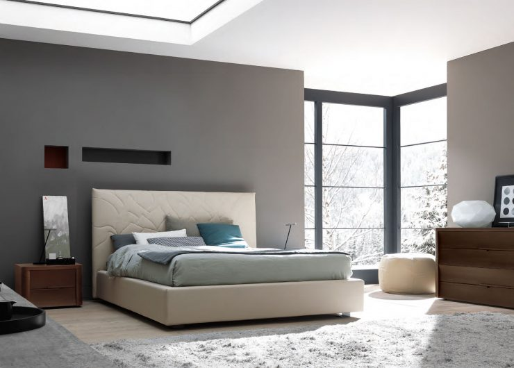 white-modern-king-size-bed